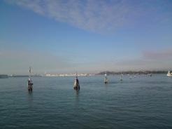 Venedig, Stadtpanorama aus der Ferne
