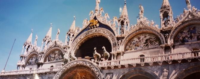 Die Rosse von San Marco, Venedig.