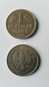 Ab 1948 das offizielle Zahlungsmittel: Die Deutsche Mark.